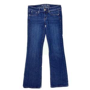 American Eagle Favorite Boyfriend Jeans Sz 8 Blue